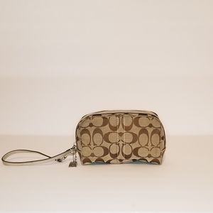 Couch Cosmetic Pouch Wristlet